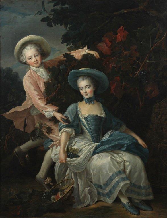English School Portrait Painting François-Hubert Drouai - 2