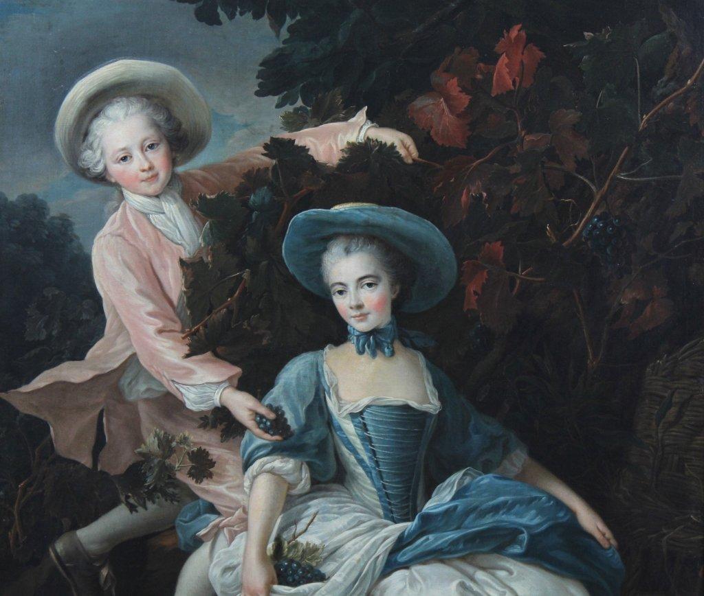 English School Portrait Painting François-Hubert Drouai - 3