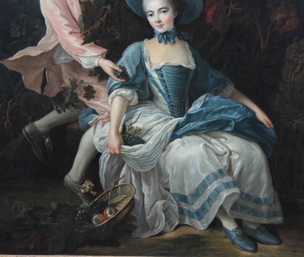 English School Portrait Painting François-Hubert Drouai - 4