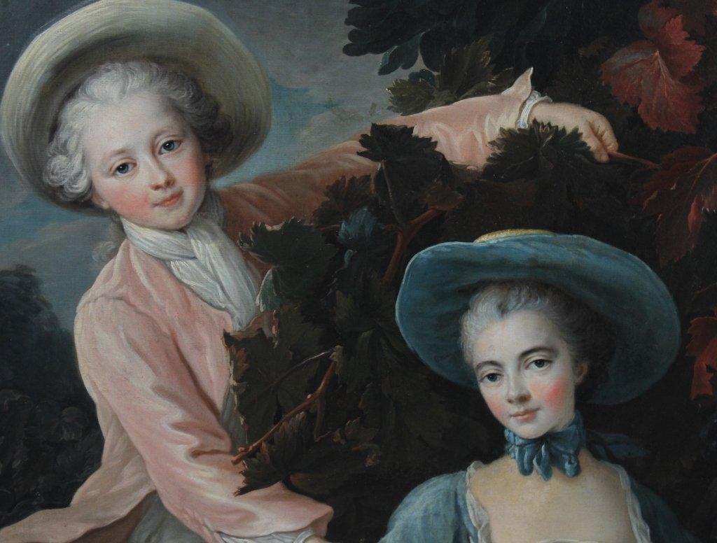 English School Portrait Painting François-Hubert Drouai - 5