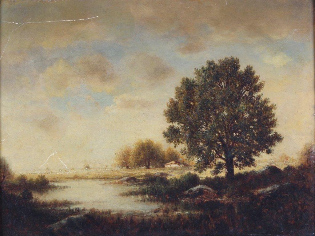 Gilbert Munger 1837-1903 American River Art Landscape - 2
