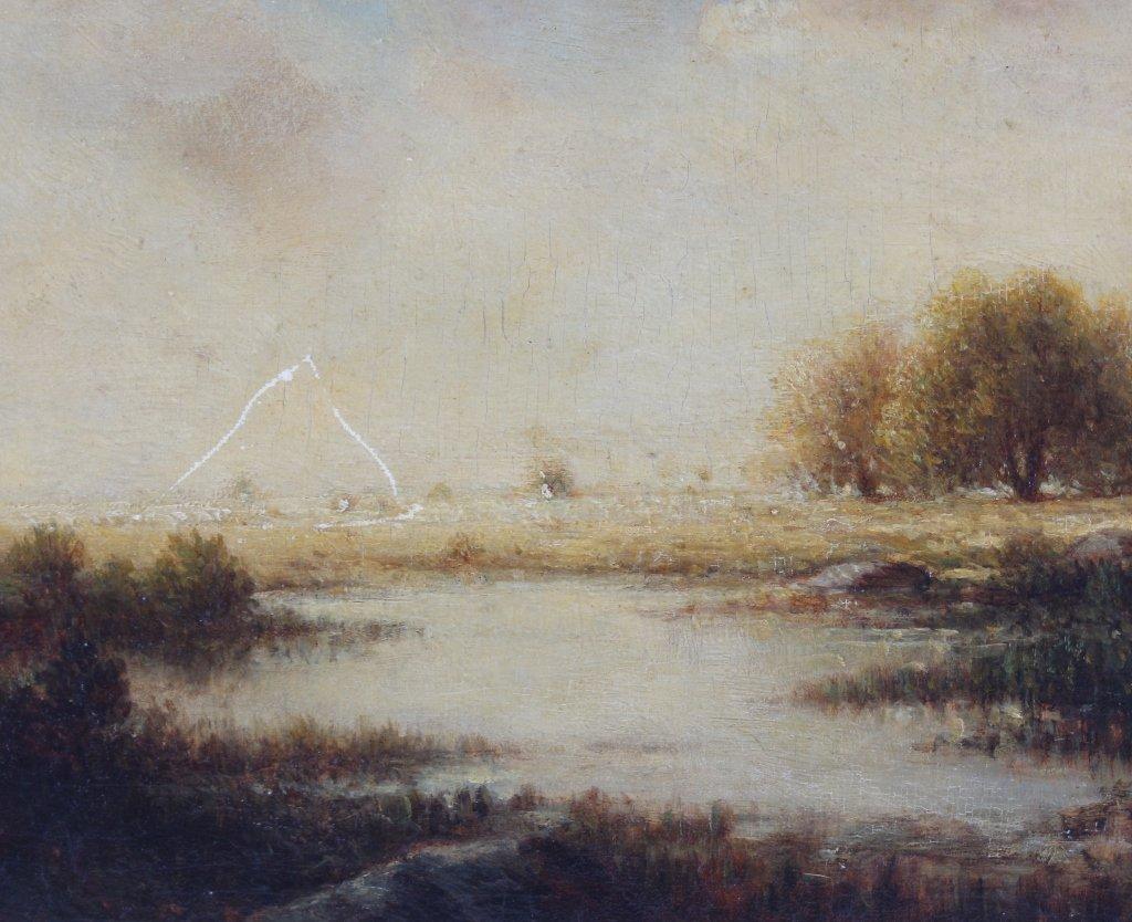 Gilbert Munger 1837-1903 American River Art Landscape - 4