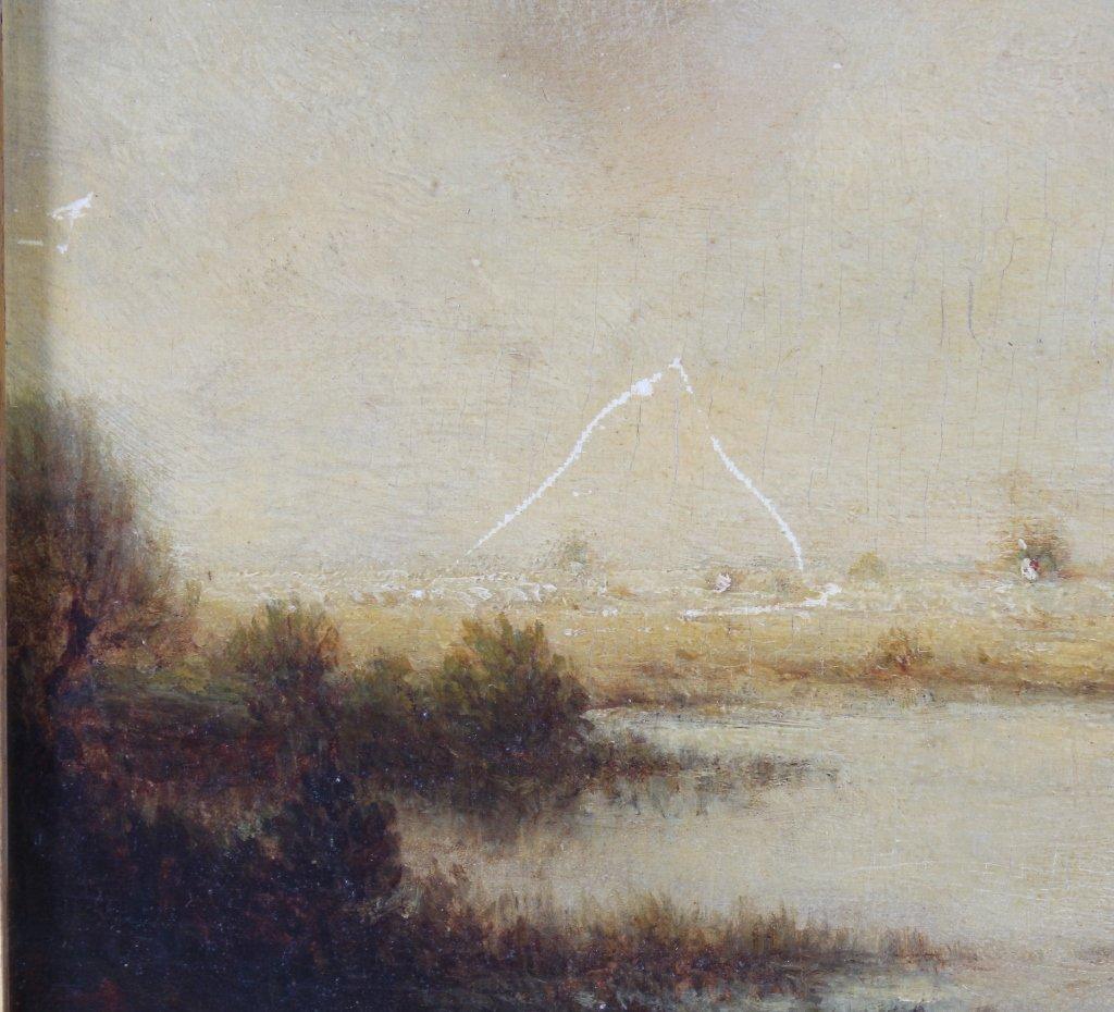 Gilbert Munger 1837-1903 American River Art Landscape - 6