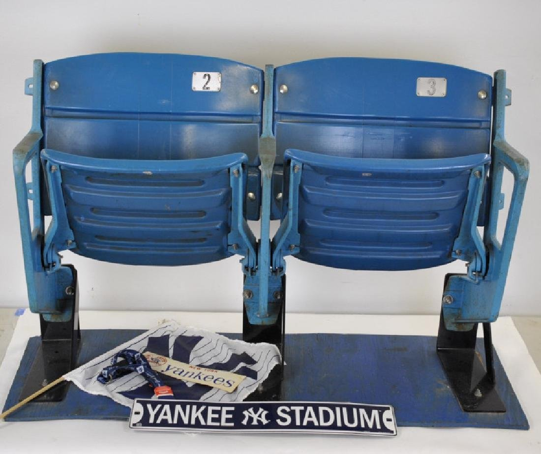 PR New York Yankee Baseball Stadium Chairs Seats #2, #3