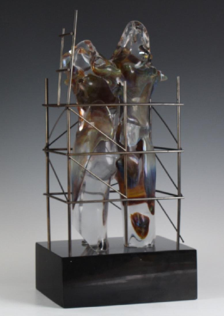 Loredano Rosin Murano Art Glass Nude Sculpture - 6