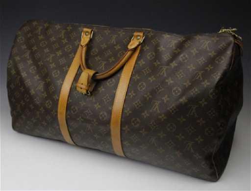 0364564a7f89 LOUIS VUITTON Keepall Bandouliere 60 LV Monogram Bag