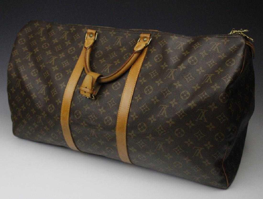 7f6051ac0d33 LOUIS VUITTON Keepall Bandouliere 60 LV Monogram Bag