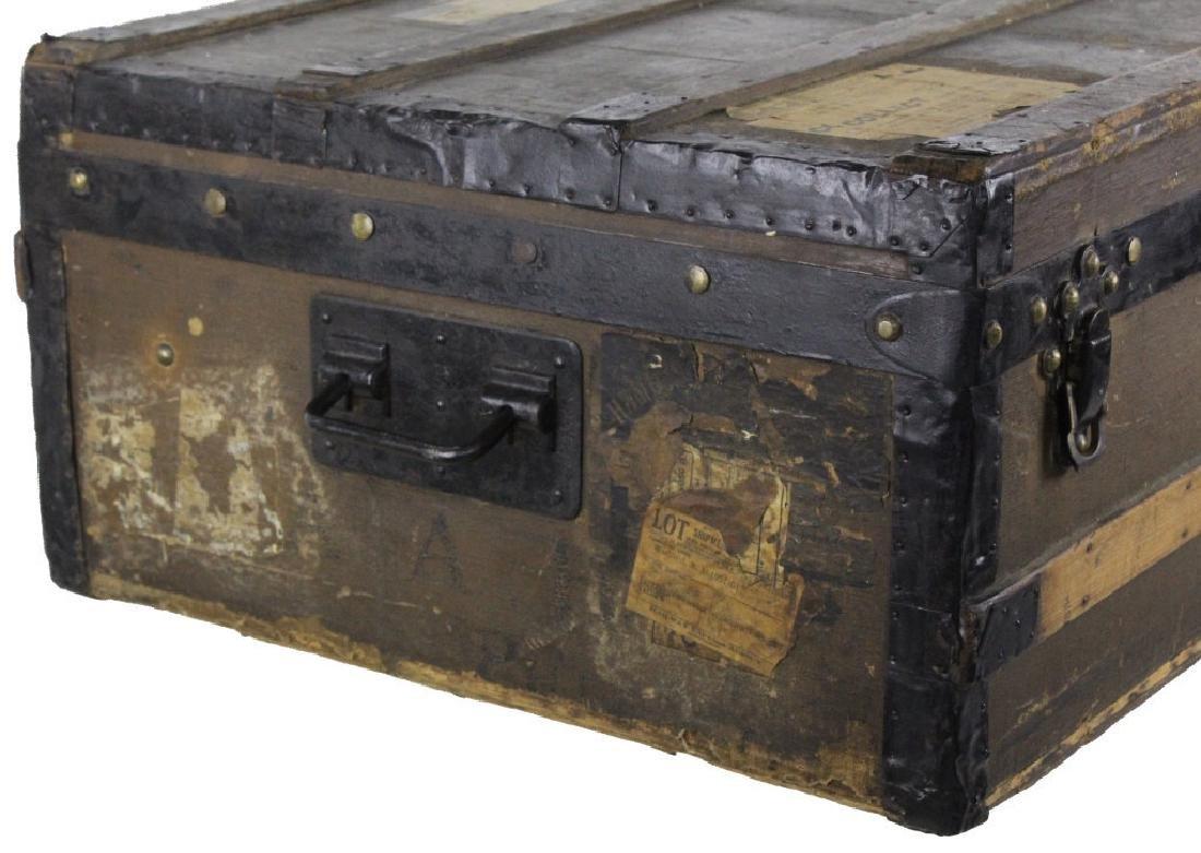 LOUIS VUITTON Steamer Wardrobe LV Hard Trunk c1900 - 2