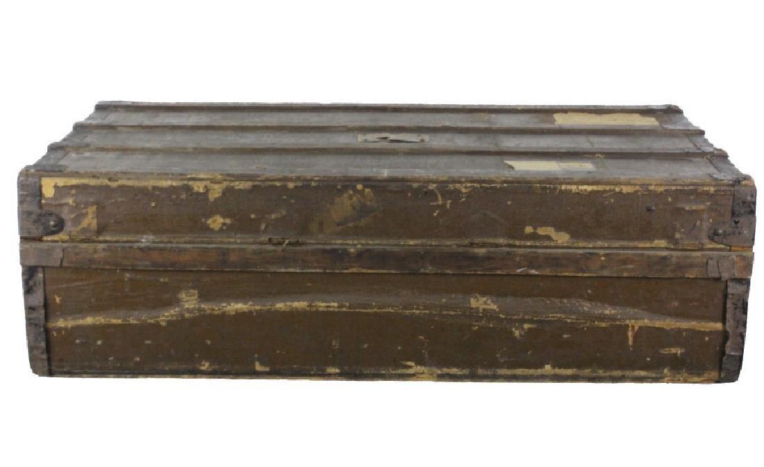 LOUIS VUITTON Steamer Wardrobe LV Hard Trunk c1900 - 3