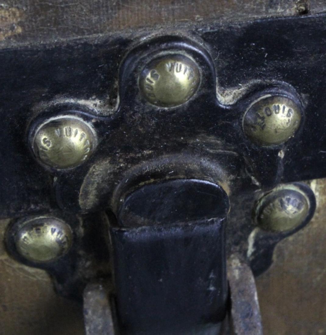 LOUIS VUITTON Steamer Wardrobe LV Hard Trunk c1900 - 8