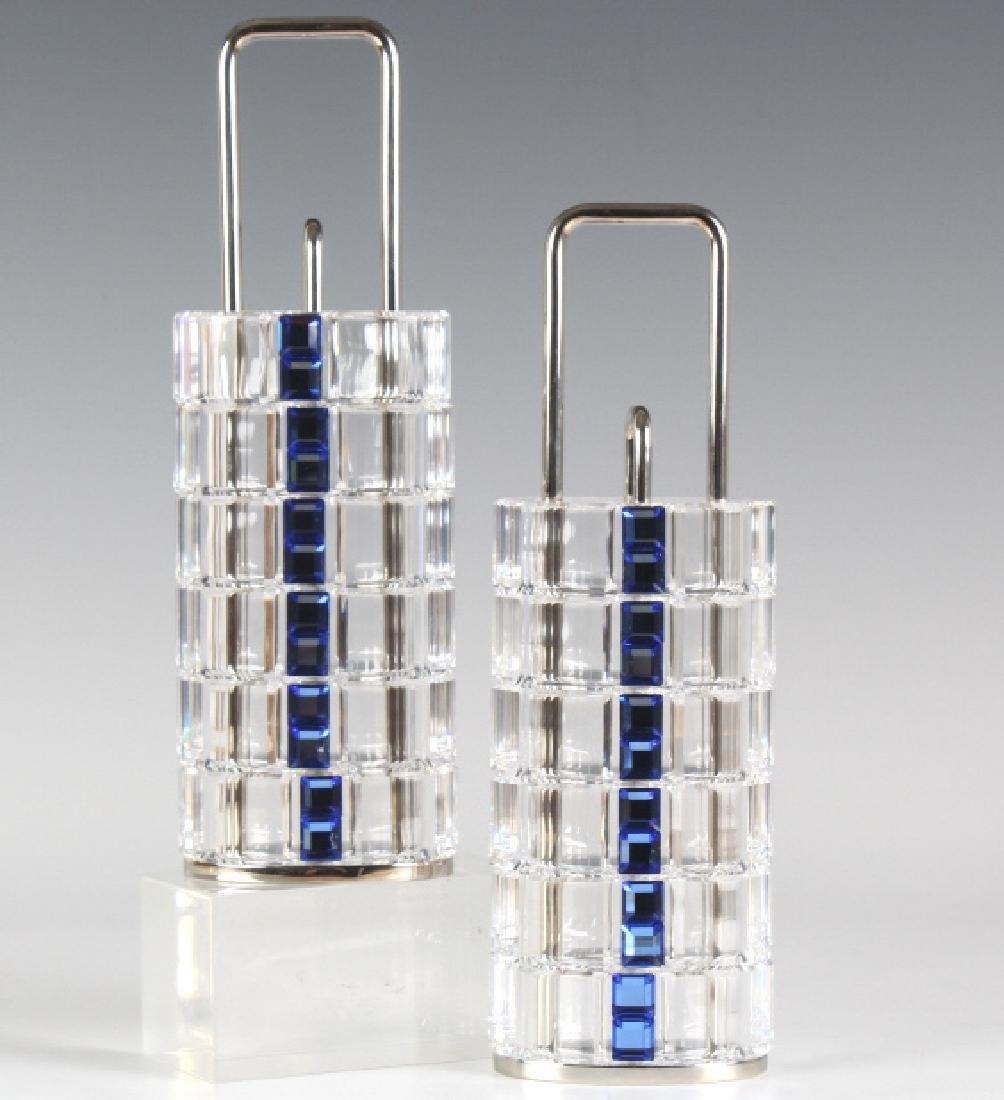 Set of 12 Swarovski Austrian Crystal Napkin Rings