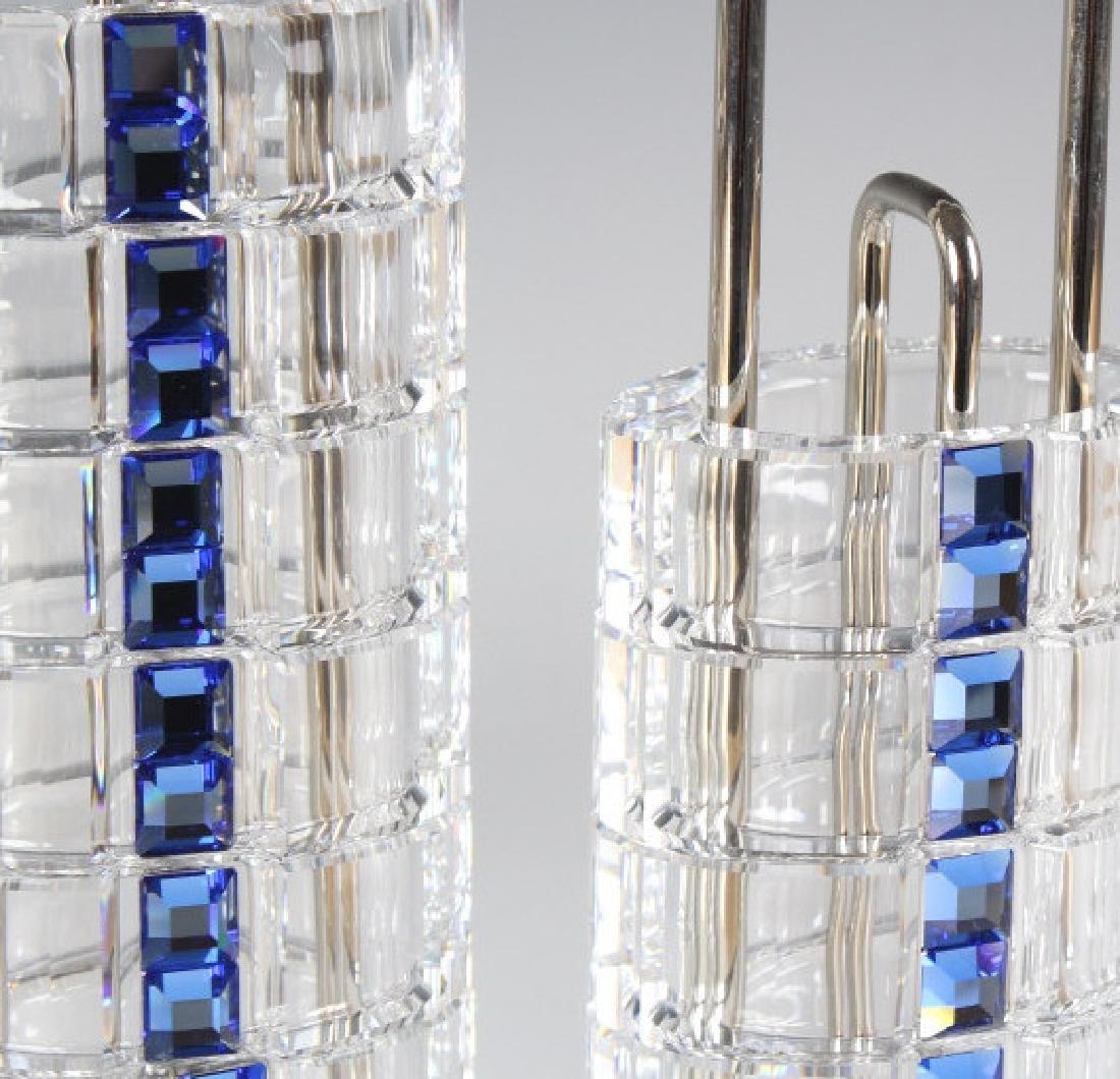 Set of 12 Swarovski Austrian Crystal Napkin Rings - 2