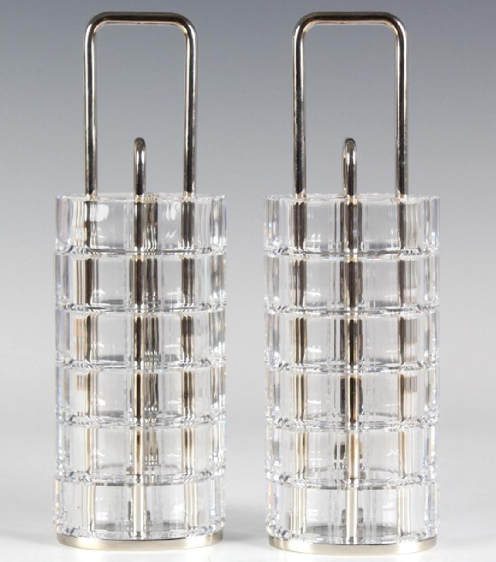 Set of 12 Swarovski Austrian Crystal Napkin Rings - 3