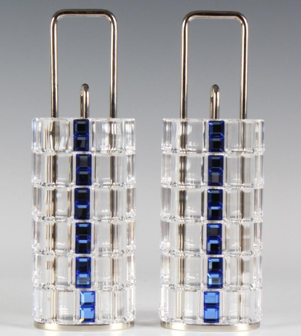 Set of 12 Swarovski Austrian Crystal Napkin Rings - 4