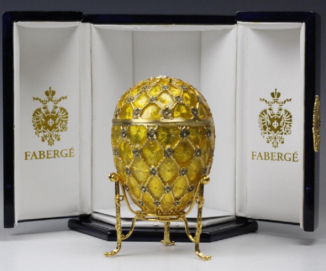 FABERGE Imperial Coronation LE Egg w/ Carriage MIB
