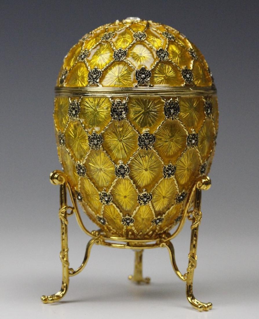 FABERGE Imperial Coronation LE Egg w/ Carriage MIB - 3