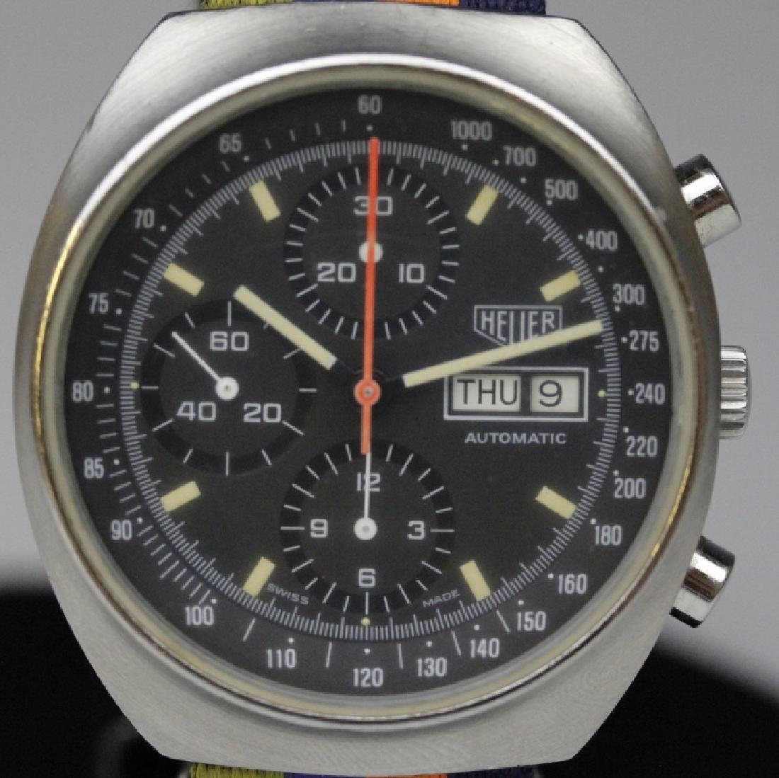 Heuer Pasadena 7750 Chronograph Sport Wrist Watch