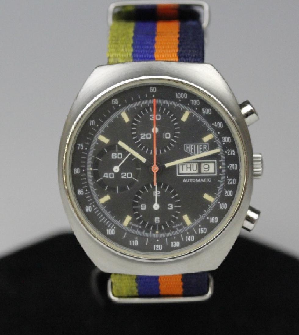 Heuer Pasadena 7750 Chronograph Sport Wrist Watch - 2