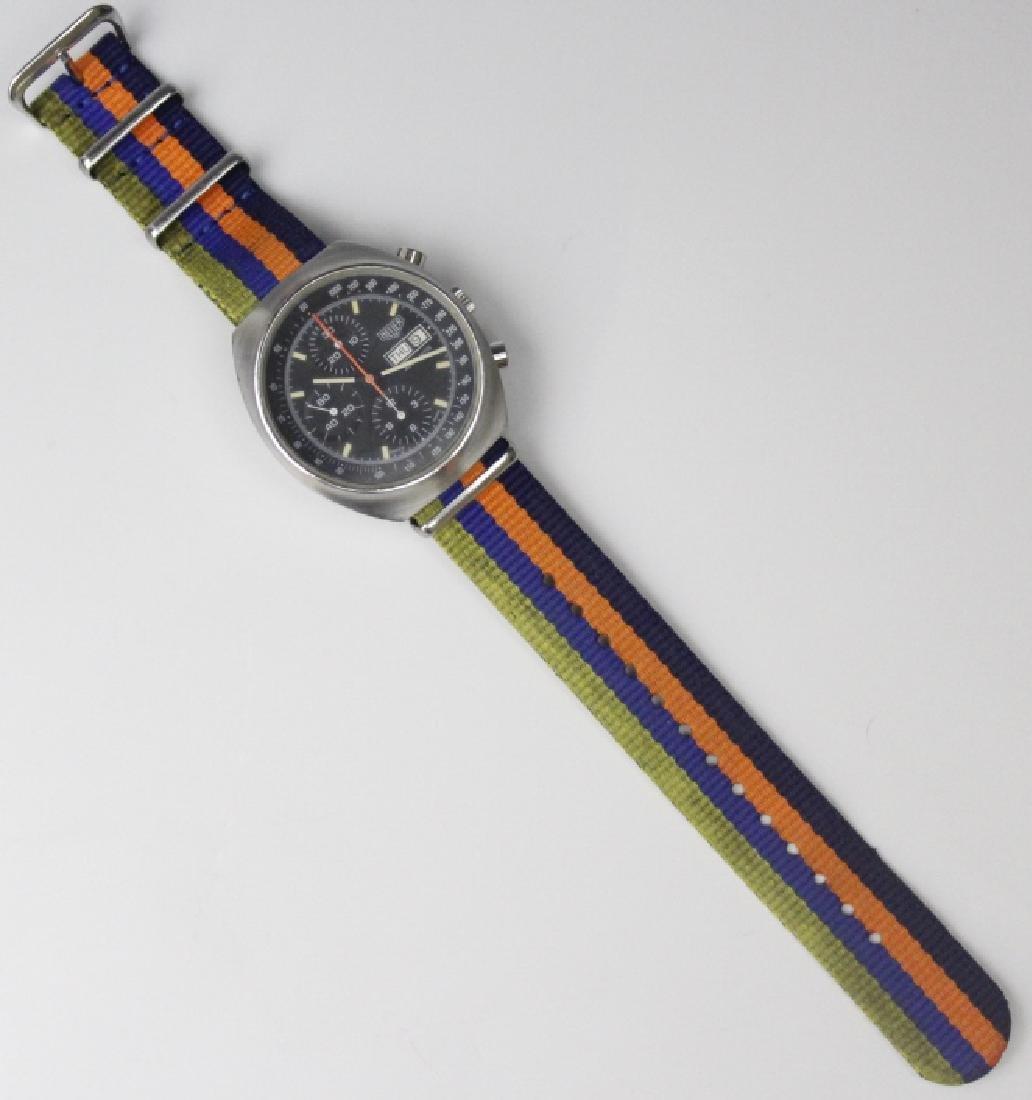 Heuer Pasadena 7750 Chronograph Sport Wrist Watch - 7