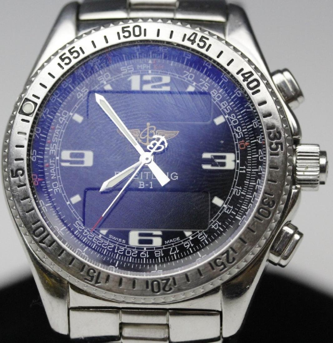 BREITLING Stainless Steel B1 Chronograph Watch