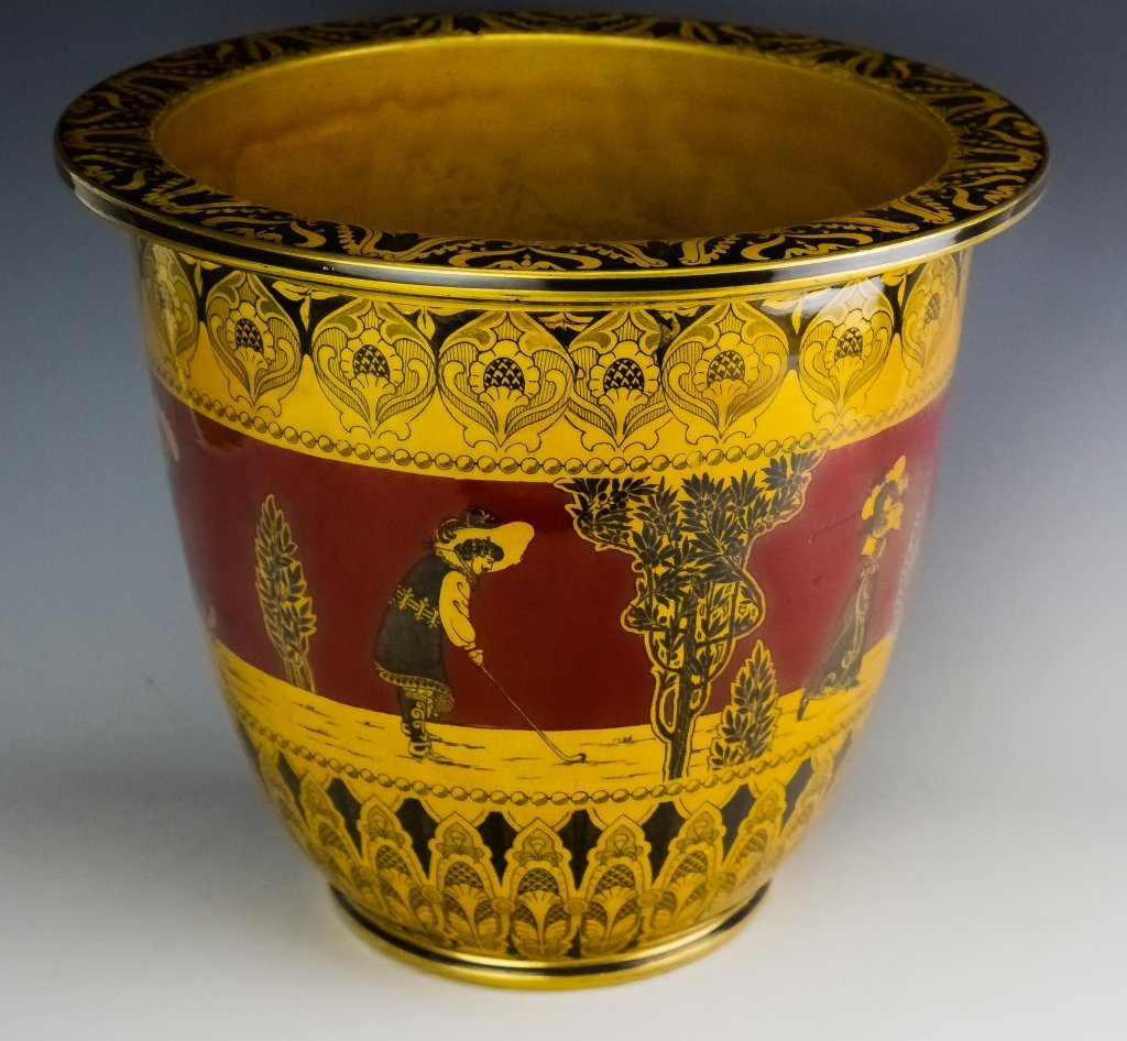 Royal Doulton Morrisian Ware Pottery Jardiniere