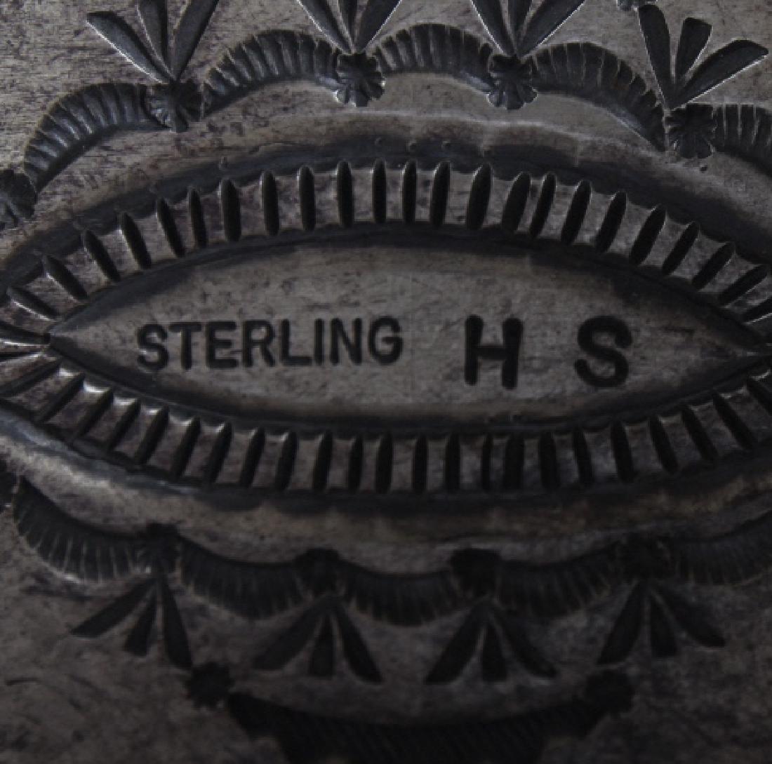 Herman Smith Navajo Sterling Silver Cuff Bracelet - 5