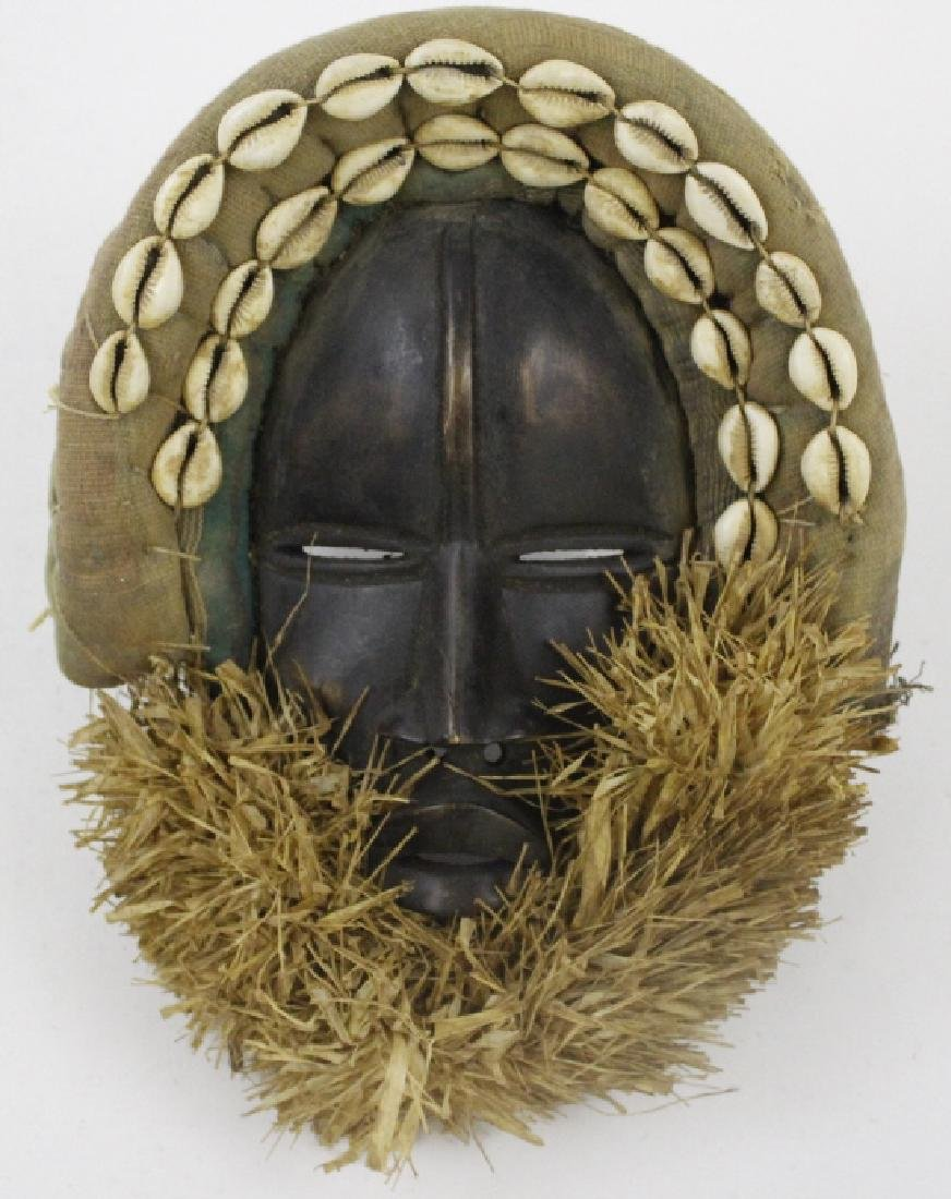 Lot of 6 African Liberian Dan Tribal Gle Ge Masks - 3
