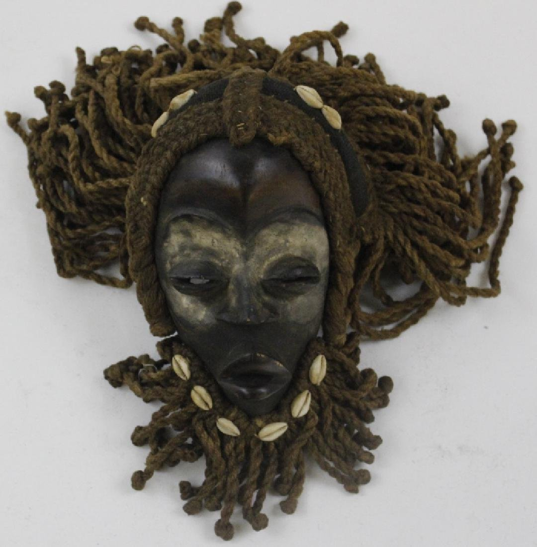 Lot of 6 African Liberian Dan Tribal Gle Ge Masks - 5