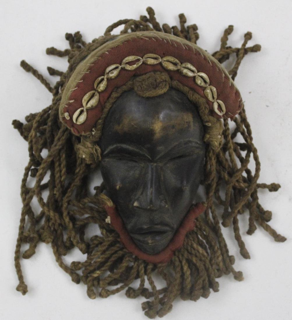 Lot of 6 African Liberian Dan Tribal Gle Ge Masks - 6