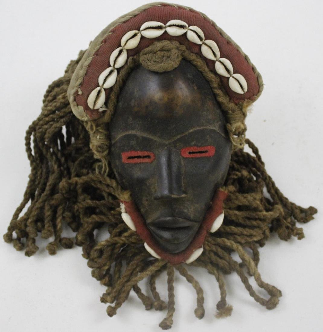 Lot of 6 African Liberian Dan Tribal Gle Ge Masks - 7