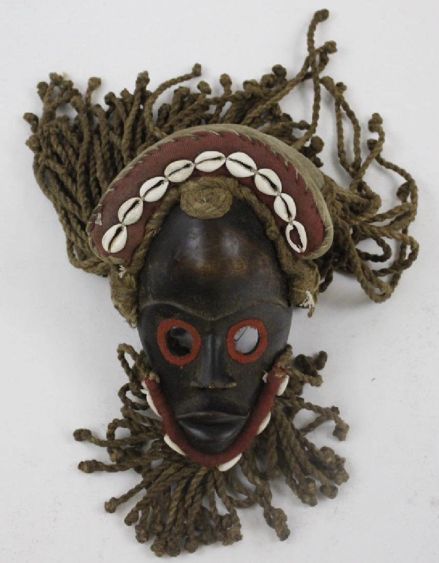 Lot of 6 African Liberian Dan Tribal Gle Ge Masks - 8