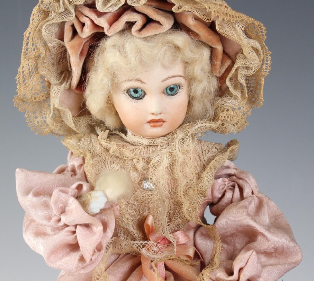 Reuge Crying Girl Automaton Swiss Doll Music Box - 2