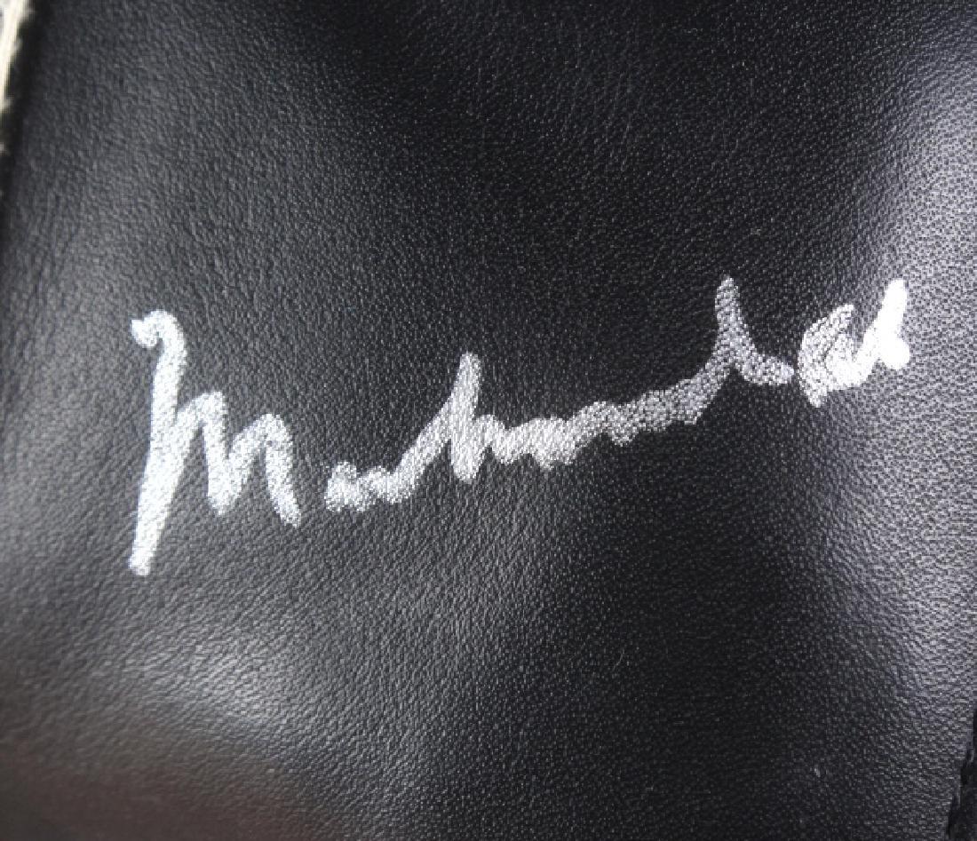 SIGNED Muhammad Ali Boxing Head Gear w/ JSA COA - 5