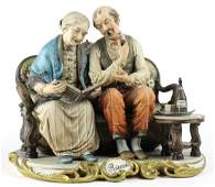 Capodimonte Ricordi Italian Porcelain Figurine