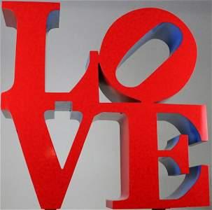 Robert Indiana (1928-2018) American LOVE Sculpture