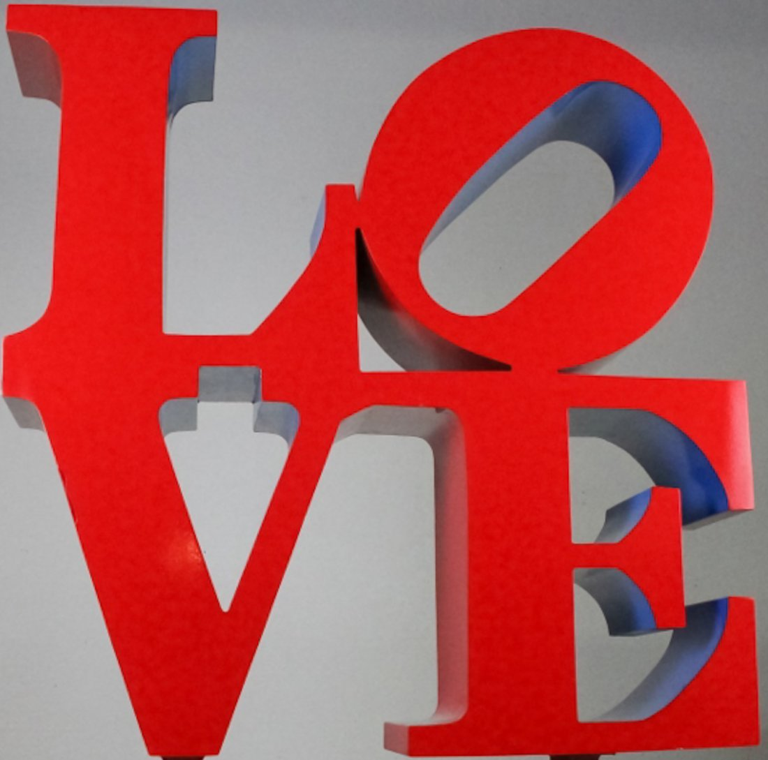 Robert Indiana (1928-2018) American LOVE Sculpture