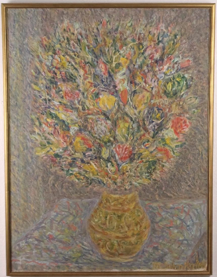 Max Schnitzler (1903-1999) NY American Oil Painting WPA