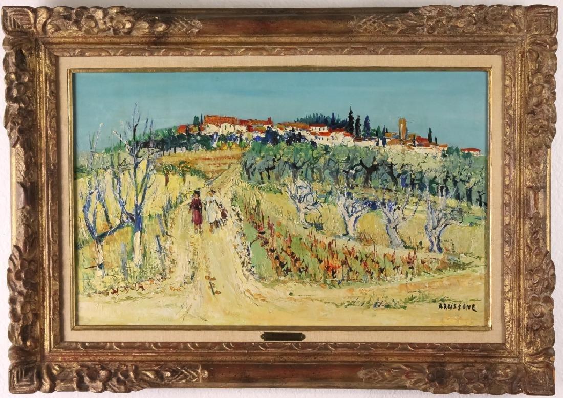 Yolande Ardissone Impressionist Landscape Oil Painting