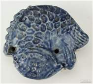 Korean Blue  White Fish Water Dropper BASS MUSEUM