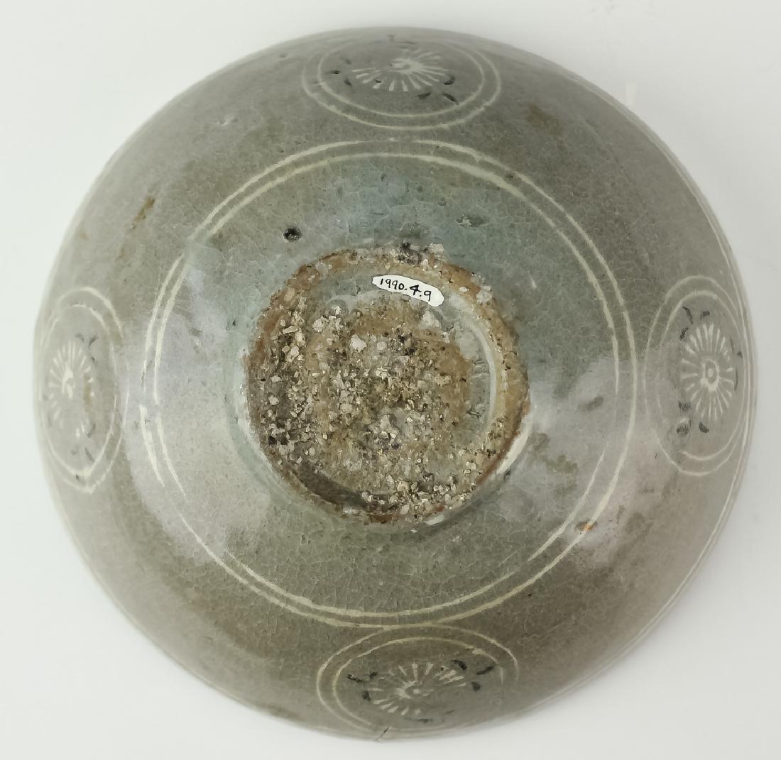 Korean Early Celadon Porcelain Bowl BASS MUSEUM - 3