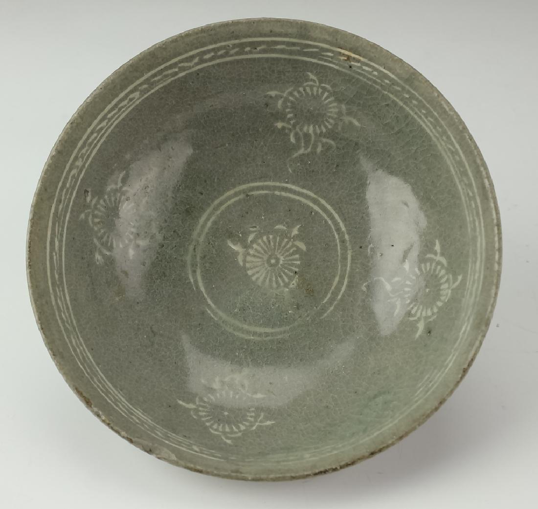 Korean Early Celadon Porcelain Bowl BASS MUSEUM - 4