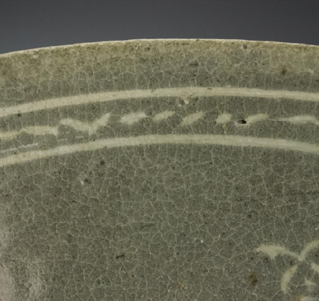 Korean Early Celadon Porcelain Bowl BASS MUSEUM - 7