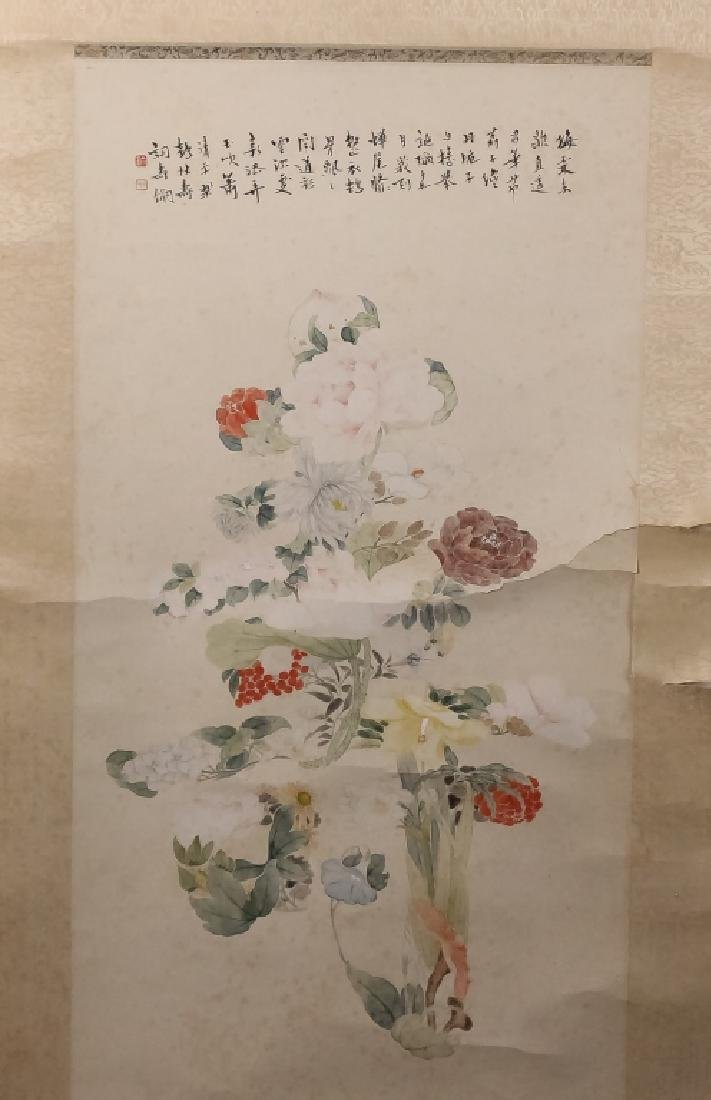 Asian Chinese Japanese Oriental Scroll Painting - 3