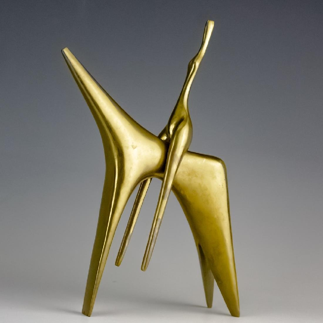 Aharone Bezalel (1926-2012) Horse Bronze Sculpture - 4