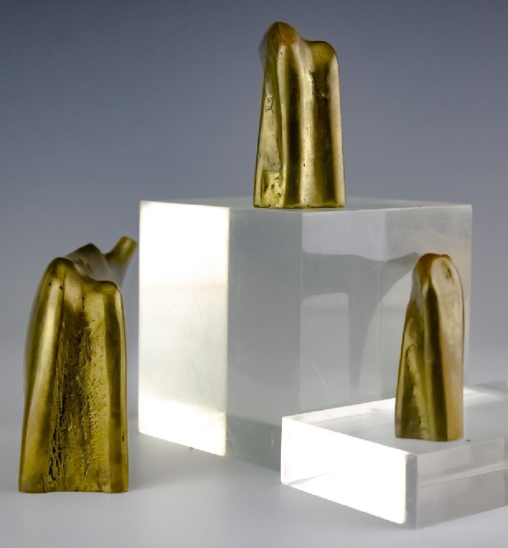 Aharone Bezalel (1926-2012) Herd Bronze Sculpture - 3