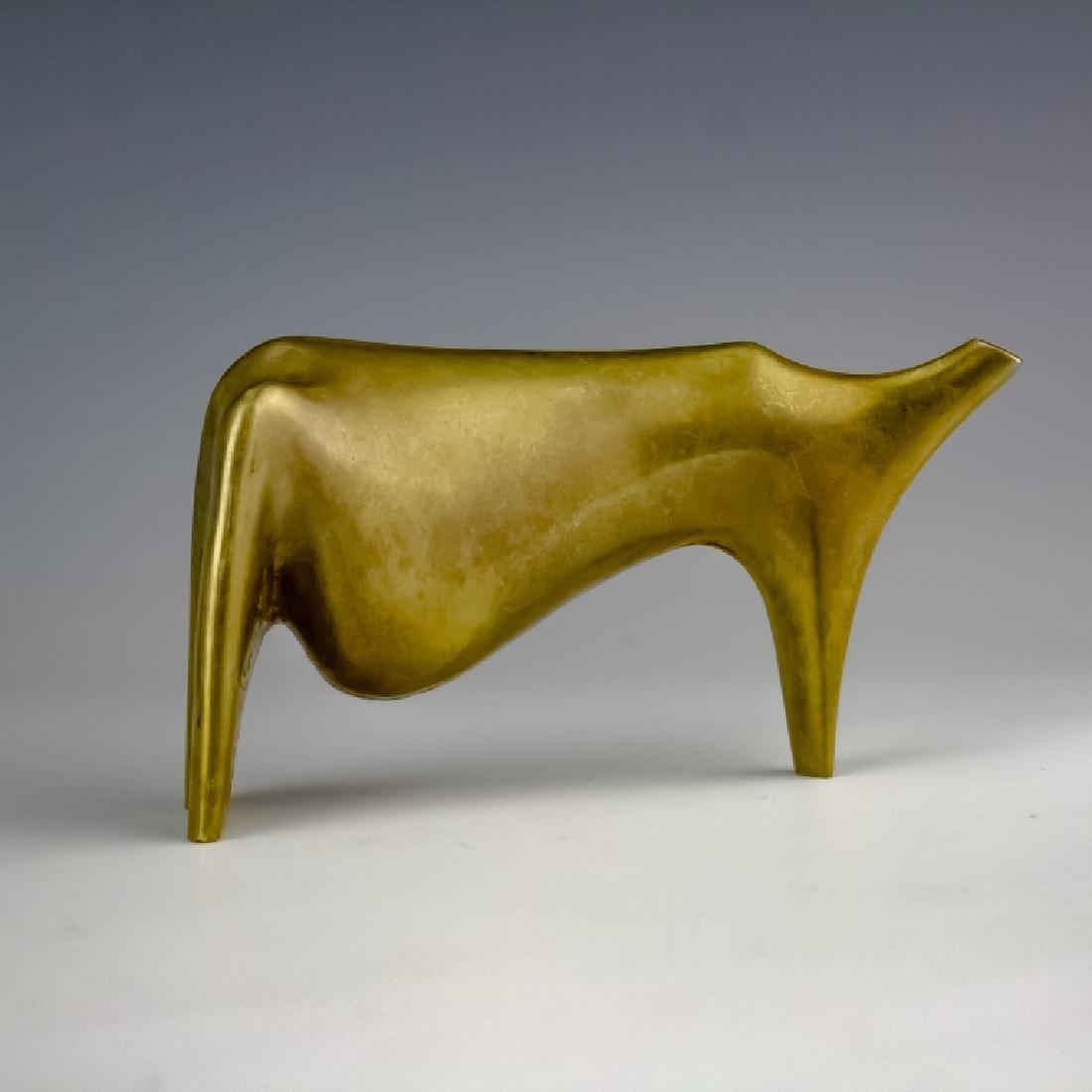 Aharone Bezalel (1926-2012) Herd Bronze Sculpture - 7