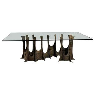 Paul Evans PE Brutalist Stalagmite Dining Table