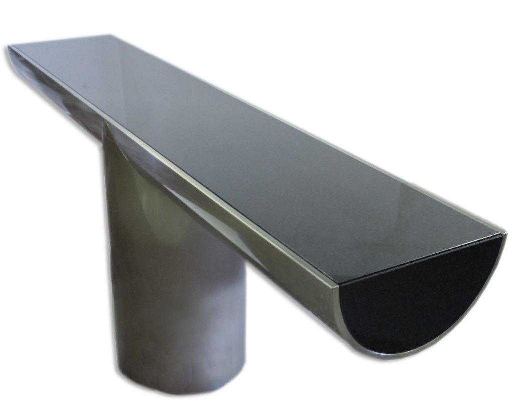 Brueton J Wade Beam Steel T Modern Console Table