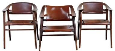 Lot 3 Rastad Relling Norway Modern Lounge Chairs