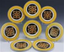 8 Versace Barocco Rosenthal Bread & Butter Plates